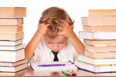 modern stress for children